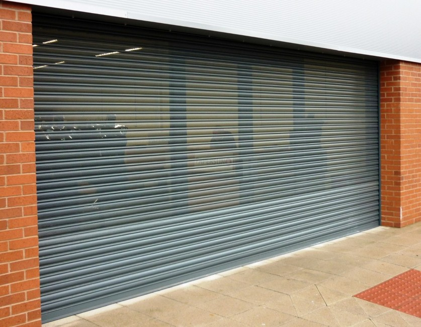 Insulated Rolling Shutter Doors Non Insulated Rolling