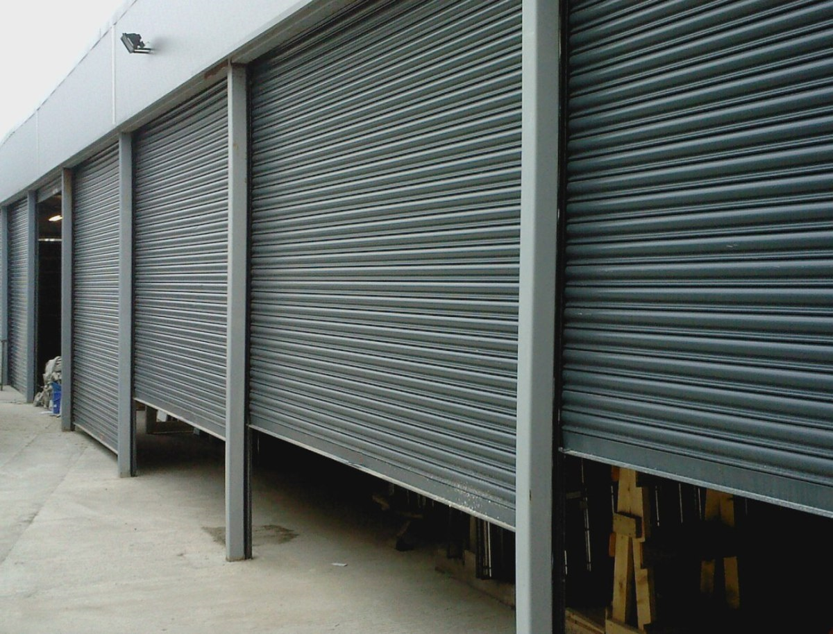 Steel Roller Shutters Door Fire Roll Up Doors