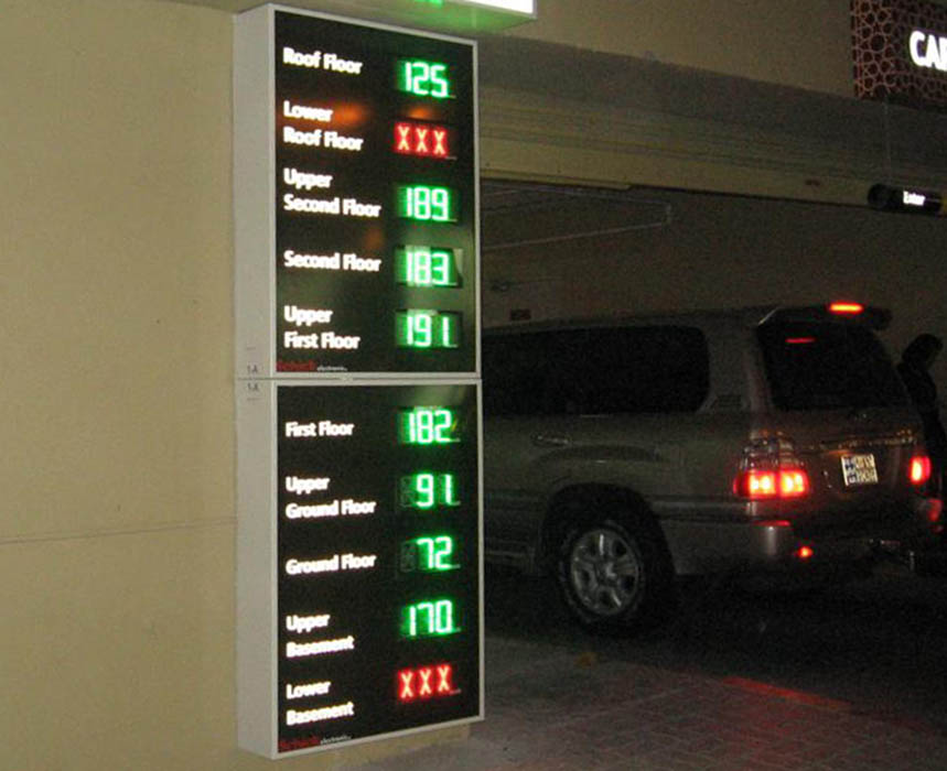 Best Car Parking Counting Systems Accurate Parking Counting
