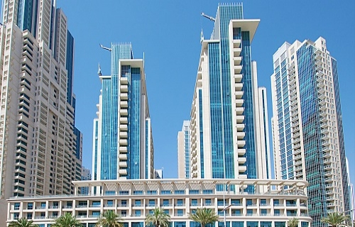 Burj Dubai Boulevard Central Tower