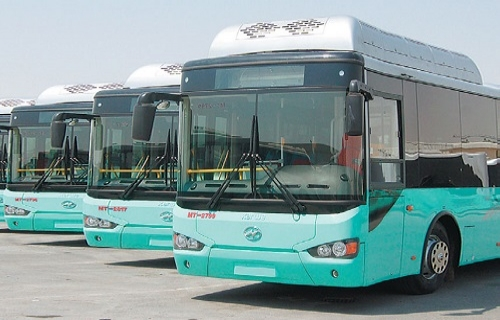 Mowasalat Bus Showroom
